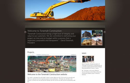 Tonemah Construction
