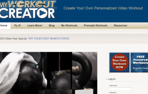 My Work Out Creator